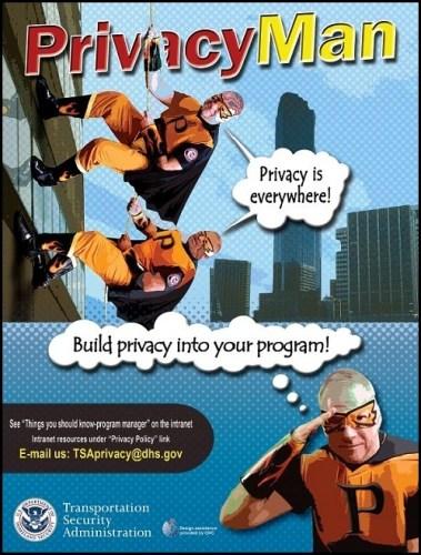 TSA Invents New Super Hero-Privacy Man