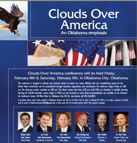 Clouds over America Conference 2013 -- a personal report by Gary Kilpatrick