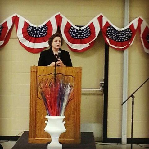 Amanda Teegarden Speaks to Lincoln-Reagan Dinner Event in Muskogee