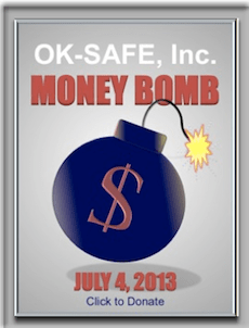Get OK-SAFE Money Bomb Widget for your Website