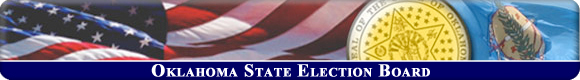 Oklahoma State Election Board Banner