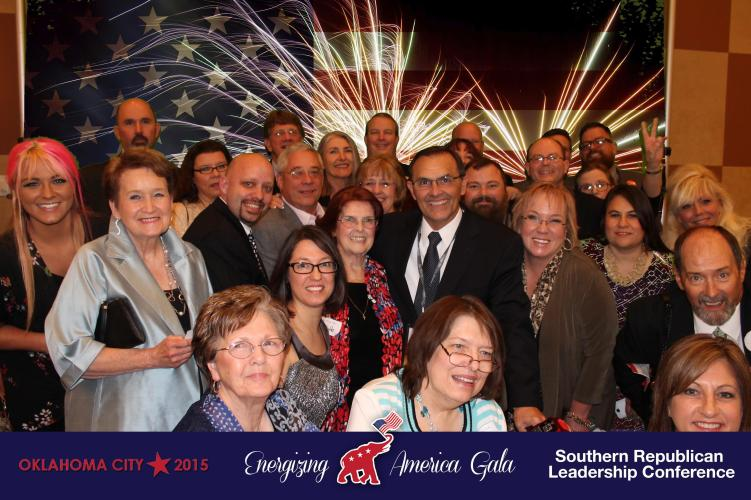 Energizing America Gala Event at the Southern Republican Leadership Conference in OKC