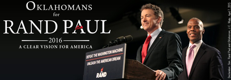 Rand Paul Commits To OKGOP Fundraiser Event