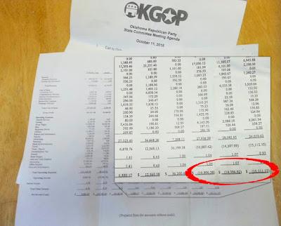 OKGOP: Show Us The Money