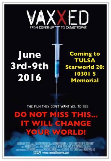 Vaxxed flyer promo