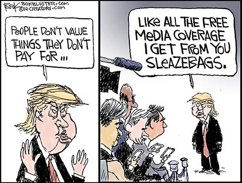 Media Trump Loves to Hate