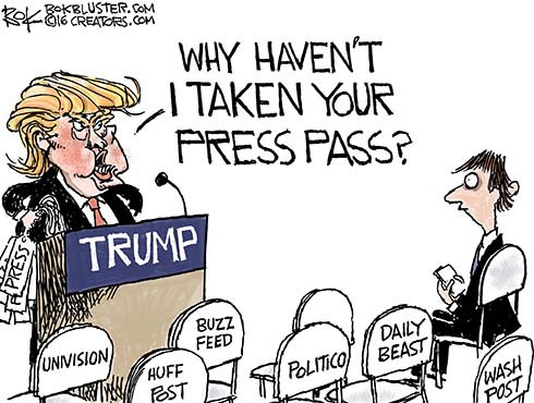 Trump to Media: You're Fired