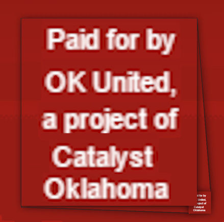 Dark Money: Who Is 'Catalyst Oklahoma'? Why Do they Support Big Govt.?