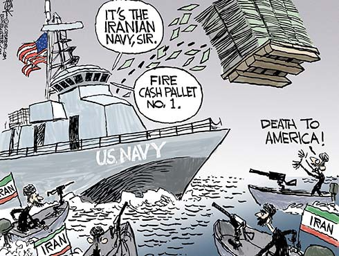 No Respect For Obama From Iran Navy