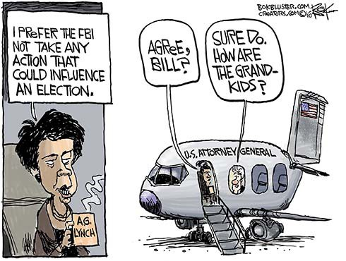 Tarmac Talk Could Influence Election Outcome