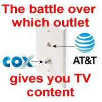 Cox & AT&T Battle Over Sinking Ship