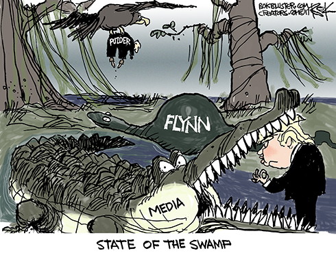 Trump Swamp Drainage Project