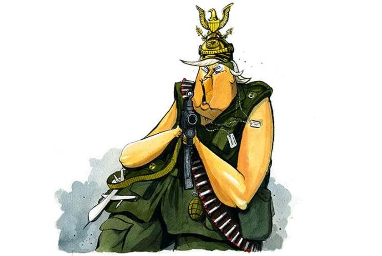 Coddingtons Corner: Trump's not the new Hitler… he's the new Kaiser Bill