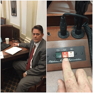 """Rep. Faught: """"Role reversal at the State Capitol"""""""