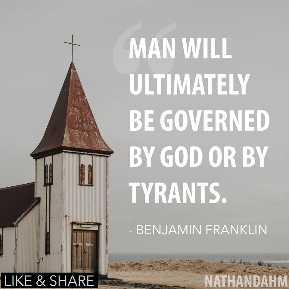 Nathan Dahm Campaign for Congress Quotes Benjamin -- Choose Wisely!