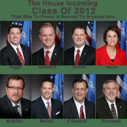 Sooner Politics: The Freshmen Of 2012: Leading The House Downward