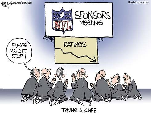 Taking a Knee for NFL Ratings