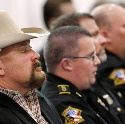 Sooner Politics: Rep Scott Biggs Rallies With Sheriffs To Stop Sentencing Reforms