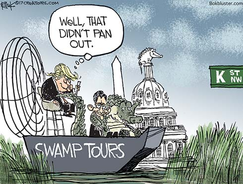 trump swamp tours