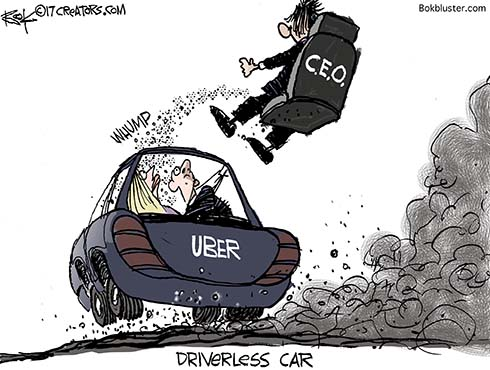 Uber CEO fired