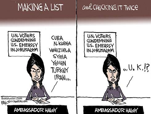Niki Haley's List