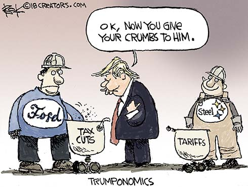 tax cuts to tariffs