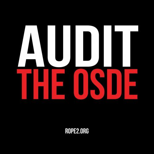 ROPE2:  No, The Independent Audit Commission is NOT Tasked With Auditing The OSDE