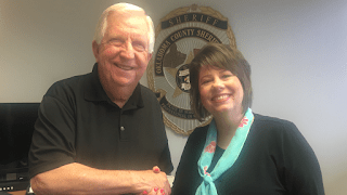 MuskogeePolitico:  OK County Sheriff P.D. Taylor endorses Cathy Costello