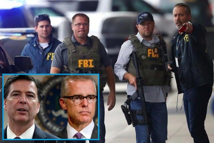 "R3publicans:  Rank And File FBI Agents ""Sickened"" By Comey And McCabe Want To ""Come Forward And Testify"""