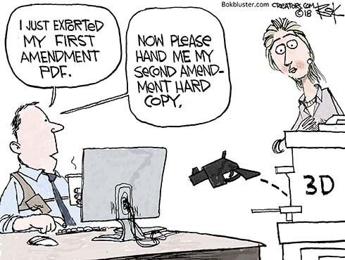 Are 3D Guns Free Speech?