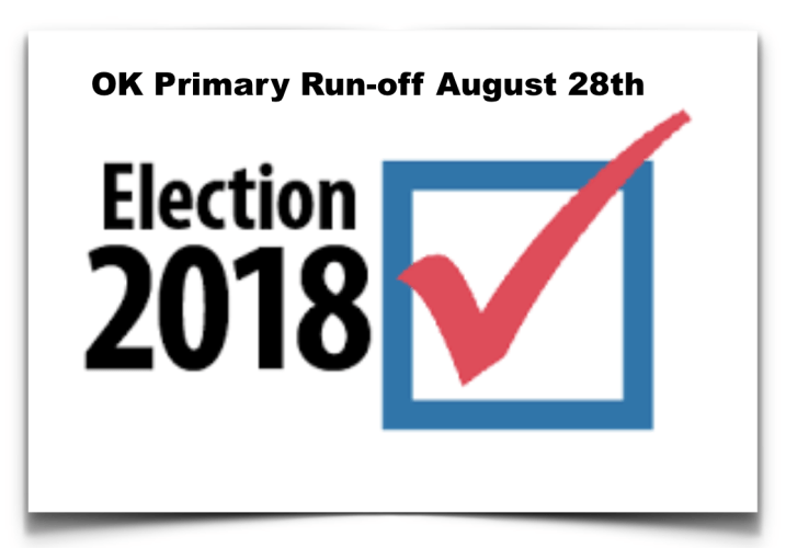 FGST:  Sample Ballot & My Voting Recommendations – Oklahoma Republican Primary Run-off August 28th