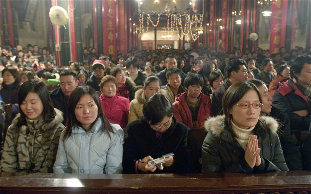 R3publicans:  China on Course to become 'World's most Christian Nation'