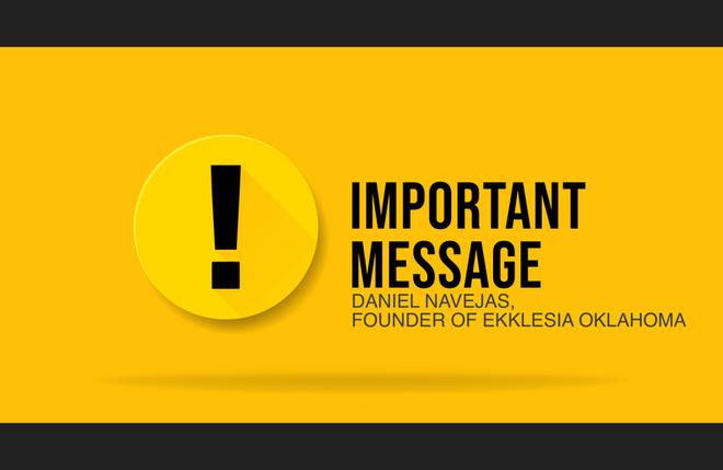 Important Message Regarding C-19