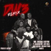 Mr Drew & Krymi ft. Fameye, Kofi Mole, Quamina MP, Dopenation & Bosom P Yung – Dw3 (Remix)