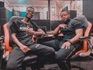 Prince Kaybee and King Monada prepares for a new song