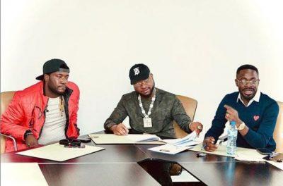 Davido signs new artiste, Deinde to his label, DMW