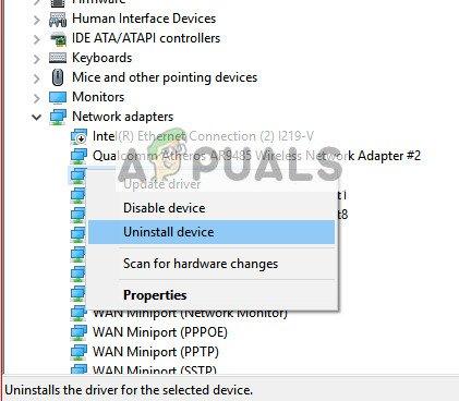 Fix: Windows konnte keinen Treiber für Ihren Netzwerkadapter finden