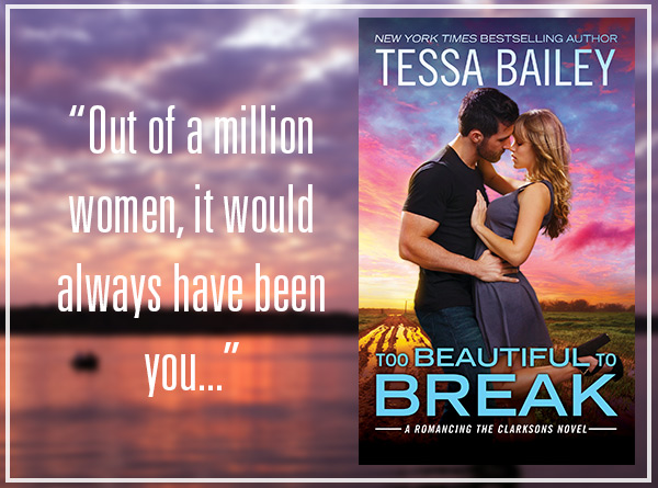 Too Beautiful To Break by Tessa Bailey Review