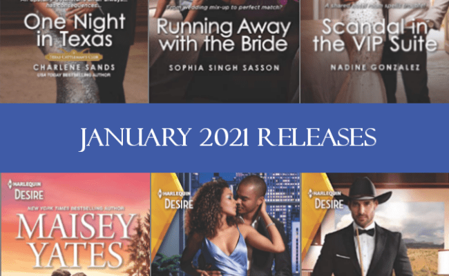 Harlequin Desire January 2021 Releases