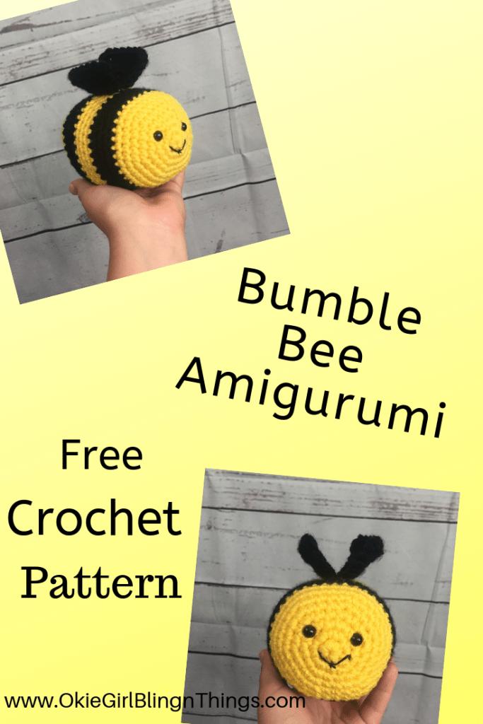 Free Pattern: Burt the Baby Honey Bee – Storyland Amis | 1024x683