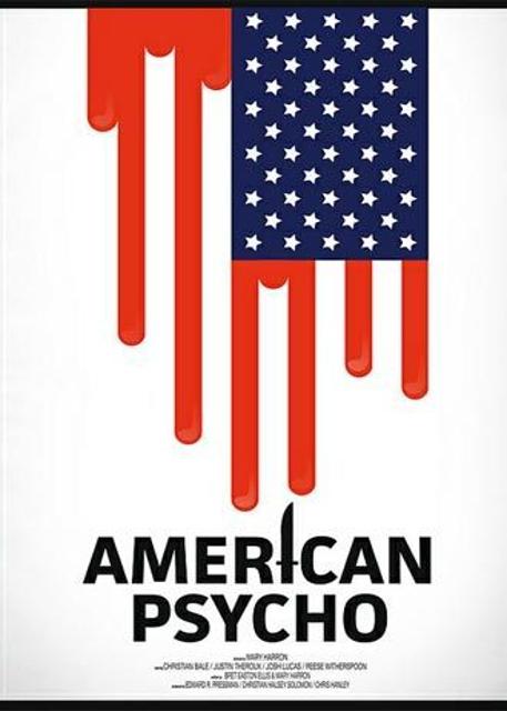 Alternatywne plakaty filmowe - American Psycho (2000)