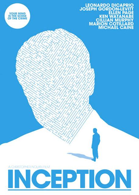 Alternatywne plakaty filmowe - Incepcja (2010)