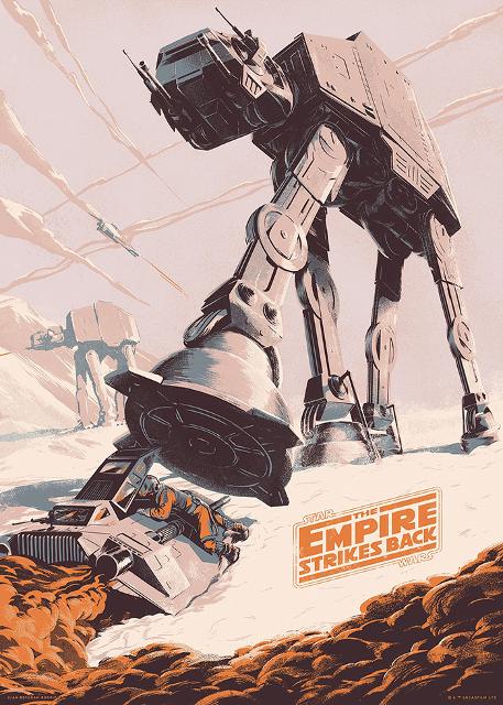 Alternatywne plakaty filmowe gwiezdne wojny