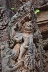świątynia piękna w Kambodży