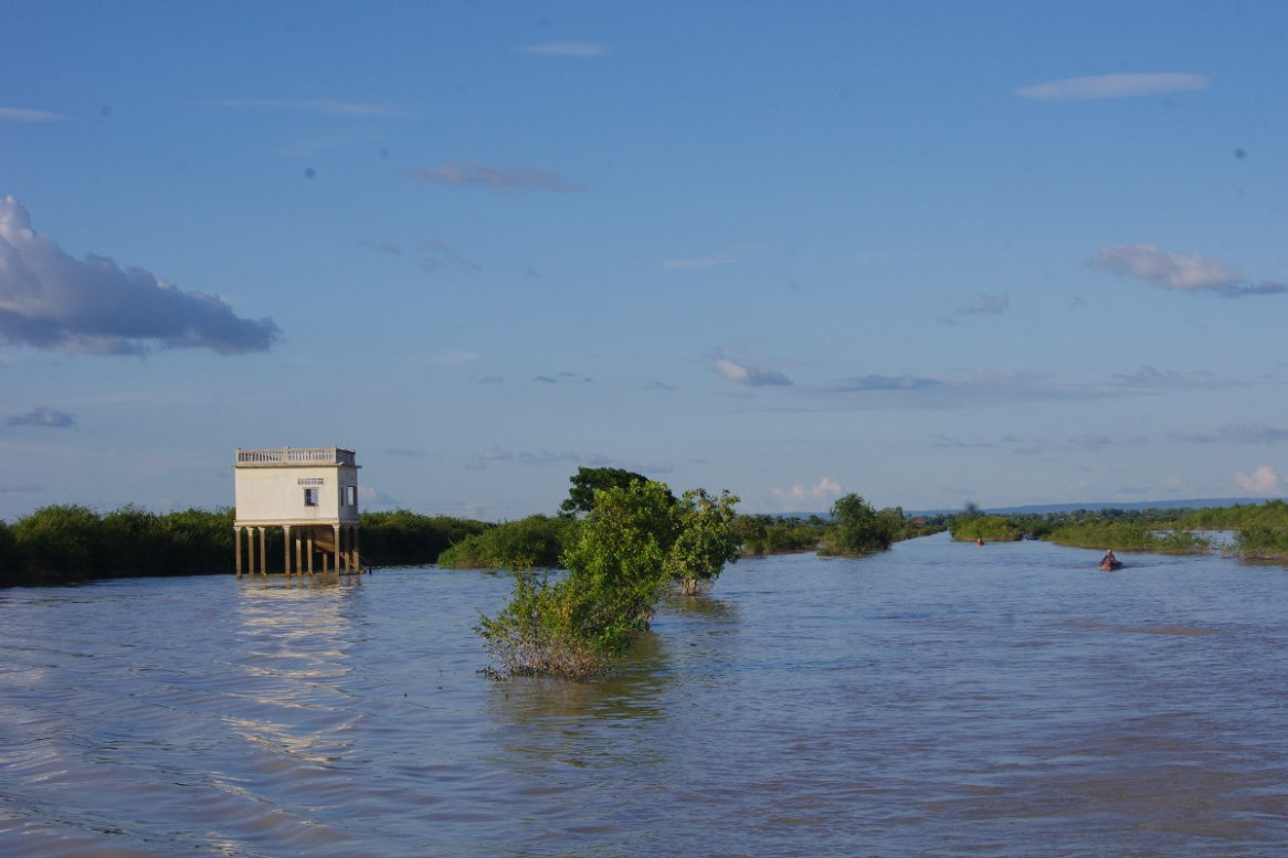 domy na wodzie, Kambodza