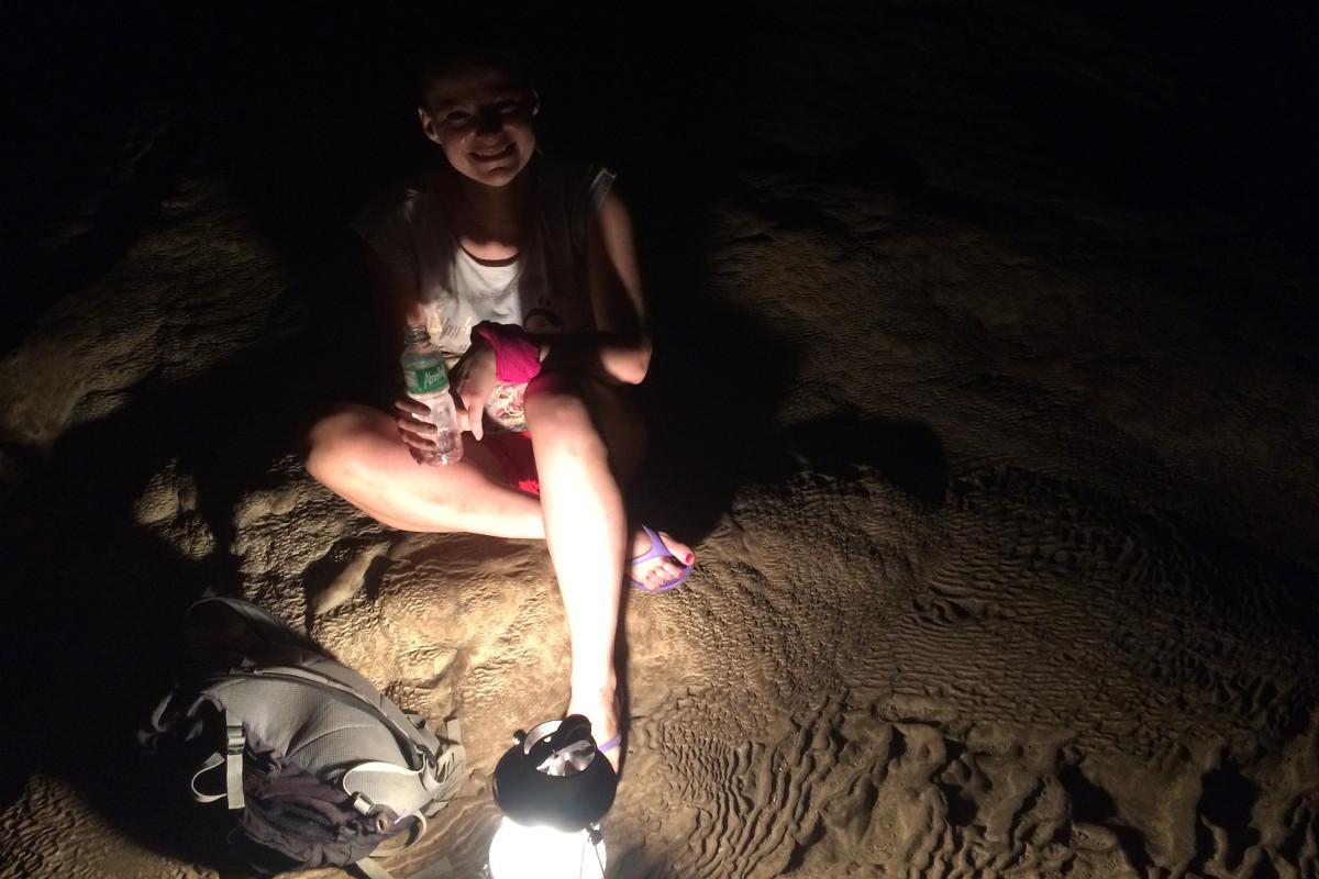 Sagada, jaskinie, przerwa na głęboki oddech