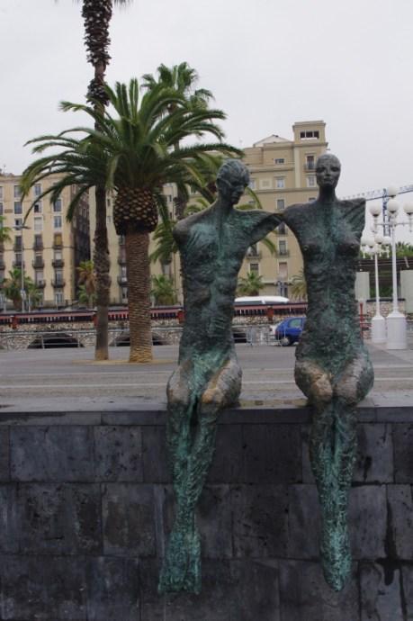 rzeźby w porcie, Barcelona