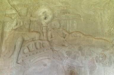 Angkor Wat reliefy