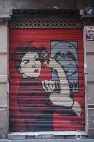 graffiti w Barcelonie, street art