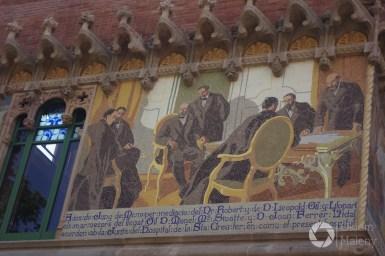 mozaiki w Barcelonie